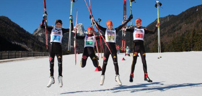 Skilangläufer zum Finale des Deutschen Schülercups noch einmal in Topform –  Alina Rippin erkämpft erneut Silbermedaille