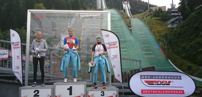 Josephin Laue gewinnt Deutschlandpokal