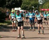 Leuna richtet erfolgreich die Deutsche Meisterschaft im Rollski Flachstrecke aus