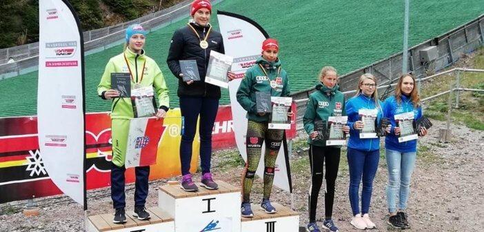 Josephin Laue gewinnt zum Auftakt des Deutschlandpokals in Oberhof