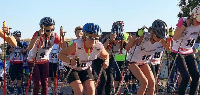Spannende Rennen bei Landesmeisterschaften im Skirollerlauf