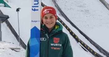 Weltcup-Start für Josephin Laue in Oberstdorf!