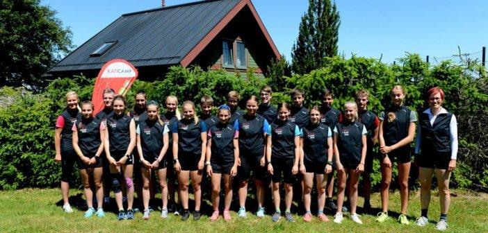 Beste Nachwuchsbiathleten Deutschlands zu Gast bei Kati Wilhelm