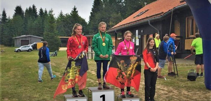 Ronja Tweig räumt bei den Deutschen Meisterschaften ab