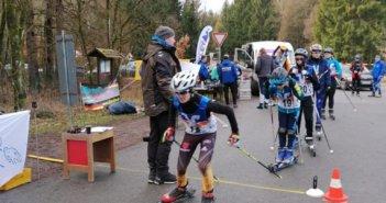 Landesmeisterschaften im Techniksprint auf Skiroller ausgetragen
