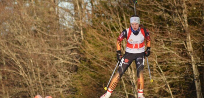 Biathleten kratzen an Top-Ten beim 3. DSV Jugendcup