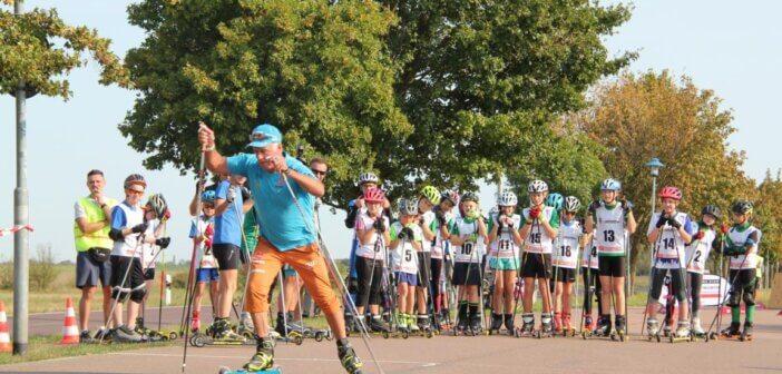 Fritz Fischer zeigt sich von Biathlonneulingen begeistert