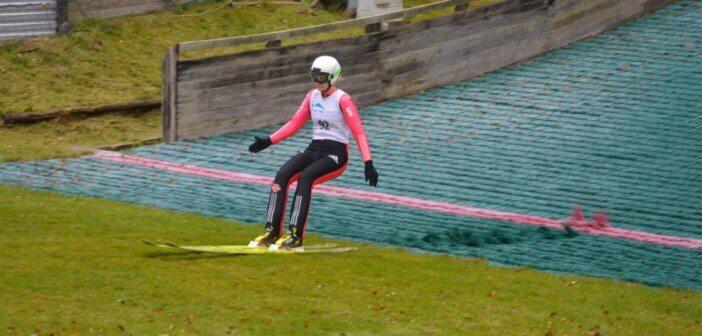 Skispringer bei der DM der Mastersmit Podestplätzen