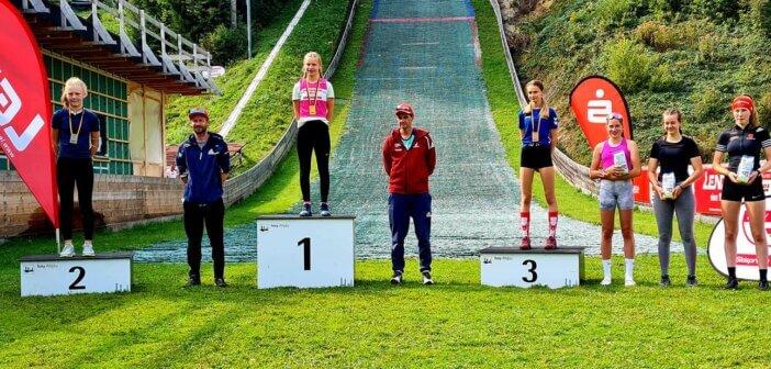 Kim Amy Duschek mit zwei Podestplätzen beim DSV Schülercup in Isny